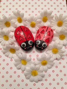 heart ladybugs